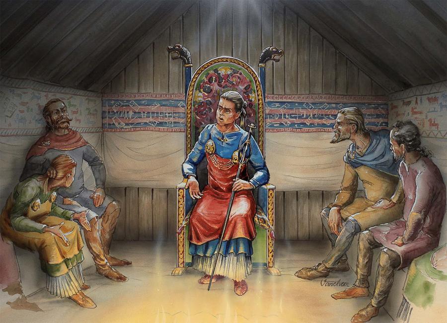The Viking Age seer