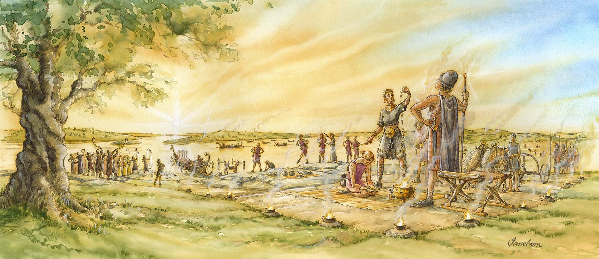 A ritual Bronze Age farewell to youth at Ullevi in Sormland, Sweden.