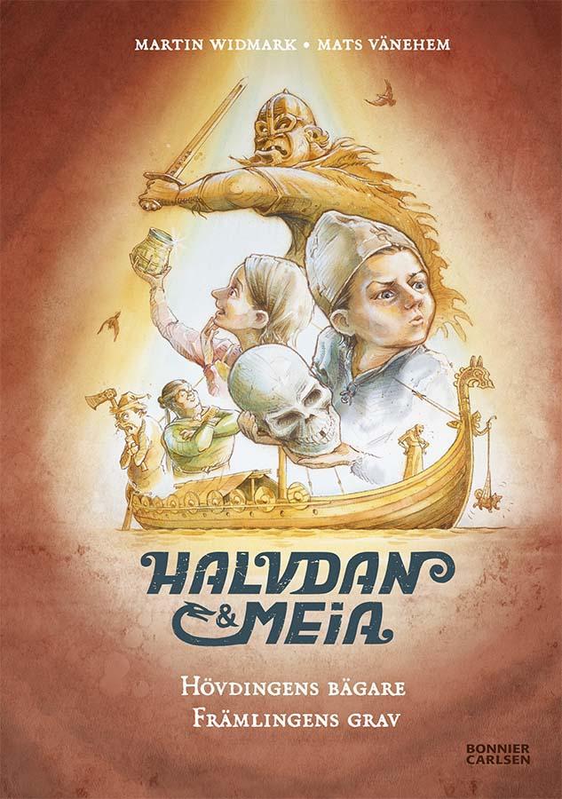 Halvdan & Meia - Compact volume: The Chieftain´s cup & The Stranger´s grave (Client: Bonnier Carlsen Publishing House, Sweden).