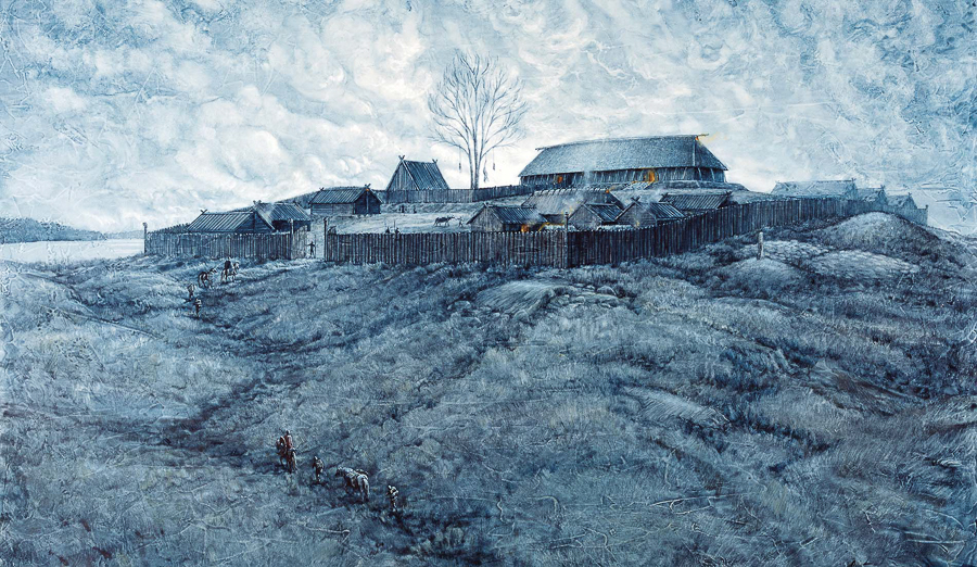 Fortified Viking Age farmstead (Client: The Swedish History Museum).