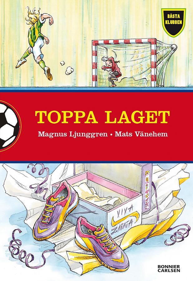 The Best Club - Trim the Team (Client: Bonnier Carlsen Publishing House, Sweden).
