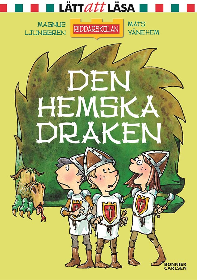 The School for Knights - The Dreadful Dragon (Client: Bonnier Carlsen Publishing House, Sweden).