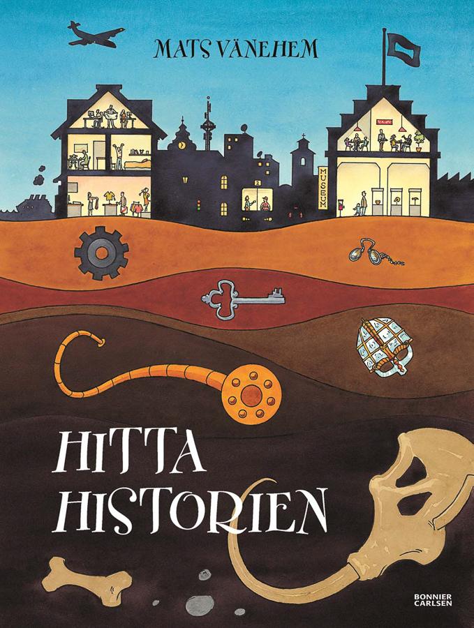 Hitta historien illustratör Mats Vänehem